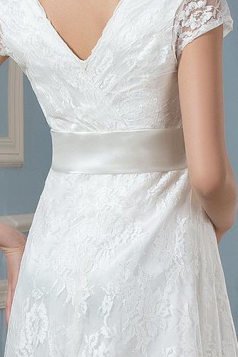 Robe de mariée Dentelle Luxueux Longueur de genou Taille haute - Page 5