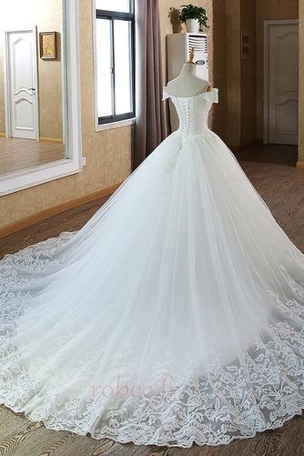 Robe de mariée Mancheron Formelle Eglise Perles net a ligne - Page 2