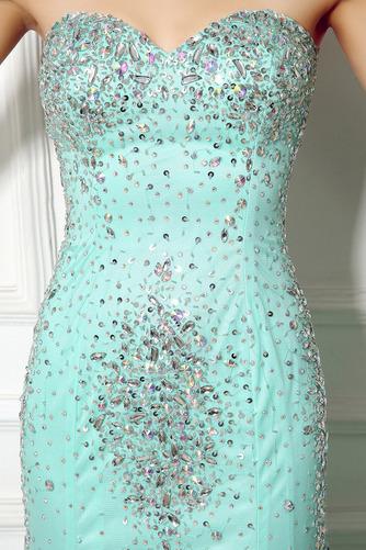 Robe de soirée Sirène Perle col coeur Elégant net Fermeture à glissière - Page 5