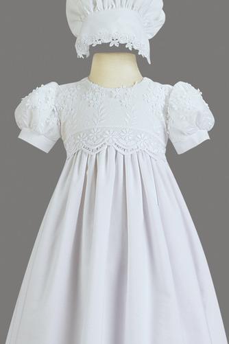 Robe de fille de fleur Princesse Haute Couvert Cérémonial Manche Courte - Page 3