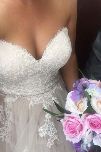 Robe de mariée Naturel taille Fermeture à glissière Printemps - Page 3