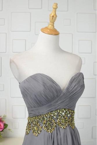 Robe de bal Fermeture à glissière Asymétrique Printemps Mousseline - Page 4