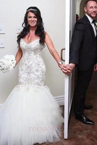 Robe de mariée Tulle Rivage col coeur Sans Manches Norme Perle - Page 2