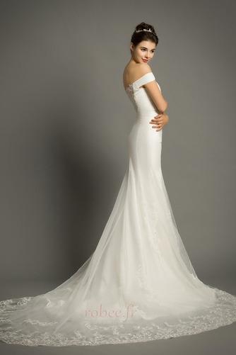 Robe de mariée Manquant Mancheron Elégant De plein air net Naturel taille - Page 4