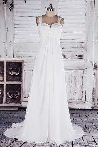 Robe de mariée Col en Cœur Sage Sans Manches Printemps noble - Page 1