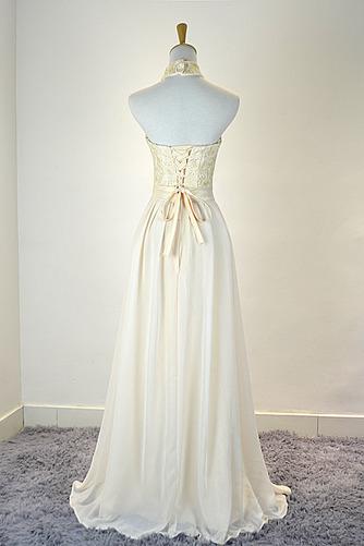 Robe de demoiselle d'honneur Mousseline Mariage Traîne Courte - Page 2