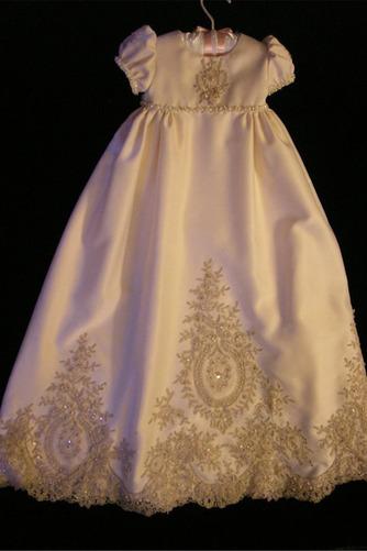 Robe de fille de fleur Princesse Petit collier circulaire Haute Couvert - Page 1