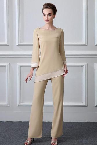 Robe mères Col Bateau Manche de T-shirt Haute Couvert Perle Naturel taille - Page 1