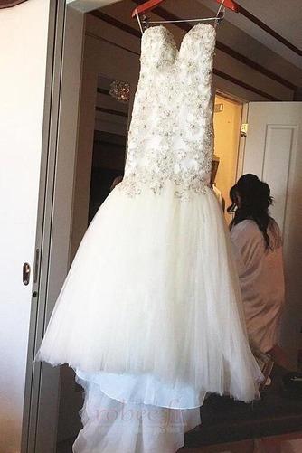 Robe de mariée Tulle Rivage col coeur Sans Manches Norme Perle - Page 4