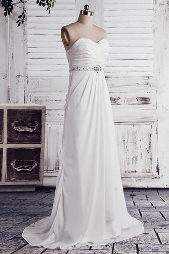 Robe de mariée Empire Longue Laçage De plein air Sans bretelles - Page 2