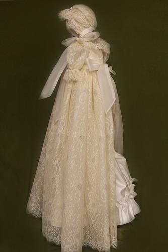 Robe de fille de fleur Cérémonie Manquant Manche Courte Dentelle - Page 2