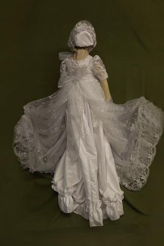 Robe de fille de fleur Bébé Col de chemise t Longue Haute Couvert - Page 2