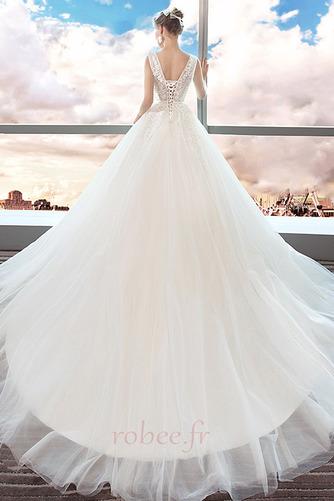 Robe de mariage Norme A-ligne Sans Manches Formelle Automne Naturel taille - Page 2