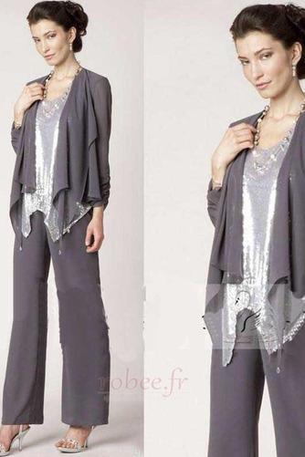 Robe mères Un Costume Avec des pantalons Naturel taille Longueur Cheville - Page 4