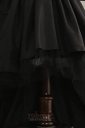 Robe de fille de fleur Elégant Manquant Satin Automne Col de chemise t - Page 5