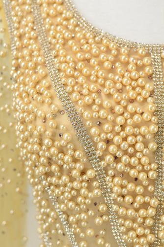 Robe mères Perle Longueur Cheville aligne Rectangulaire Tulle - Page 5