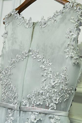 Robe de demoiselle d'honneur Fermeture à glissière Dentelle À la masse - Page 3