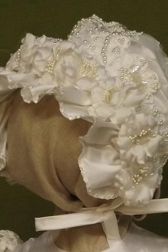 Robe de fille de fleur Manche Aérienne Naturel taille Princesse - Page 2