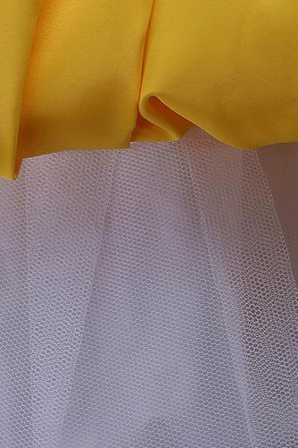 Robe de fille de fleur Longueur de plancher Soie Fermeture à glissière - Page 5