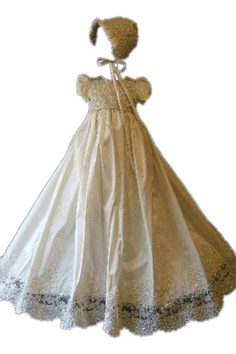 Robe de fille de fleur Haute Couvert Dentelle Petit collier circulaire - Page 1
