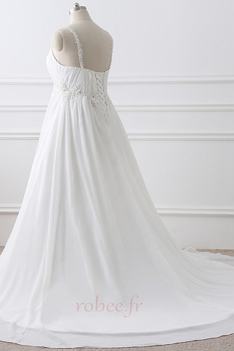 Robe de mariée Grandes Tailles Larges Bretelles Empire Chaussez - Page 3