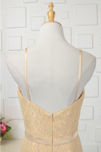 Robe de demoiselle d'honneur Longue Sans Manches Naturel taille - Page 4