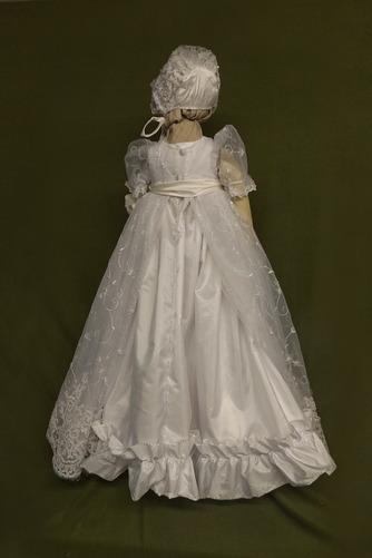 Robe de fille de fleur Princesse Dentelle Cérémonie Ceinture en Étoffe - Page 2