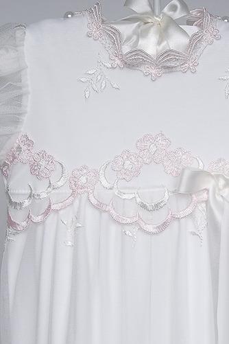 Robe de fille de fleur Princesse Dentelle Petit collier circulaire - Page 3