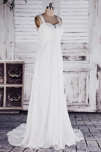 Robe de mariée Col en Cœur Sage Sans Manches Printemps noble - Page 2