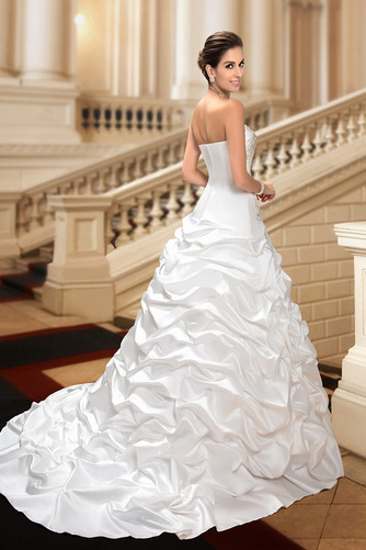 Robe de mariée Hiver Scintillait Princesse Asymétrique Satin - Page 6