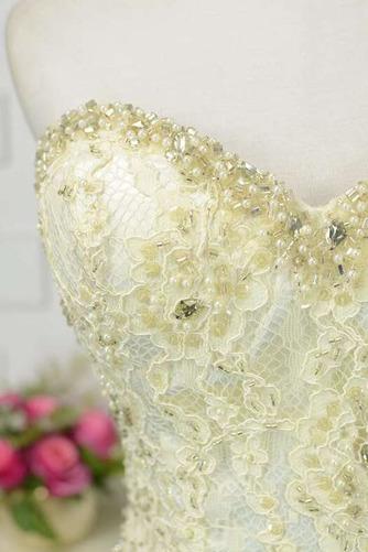 Robe de bal Moderne Sans Manches Naturel taille Ruchés Plongeants - Page 6