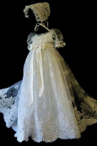 Robe de fille de fleur Princesse Cérémonie Petit collier circulaire - Page 1