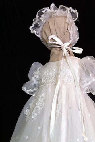 Robe de fille de fleur Dentelle Longue Princesse Chapeau Bébé - Page 3