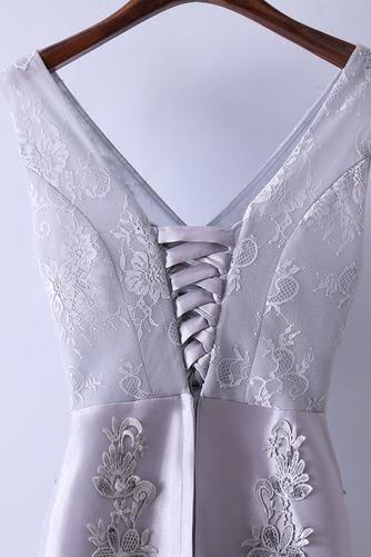 Robe de demoiselle d'honneur Luxueux Festin Sans Manches Dos nu - Page 3