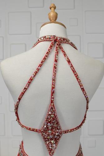 Robe de bal Dos nu Triangle Inversé Été Fourreau plissé Perle - Page 5