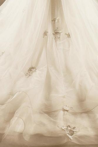 Robe de mariée Princesse Lacez vers le haut Tulle Eglise Col en Cœur - Page 7