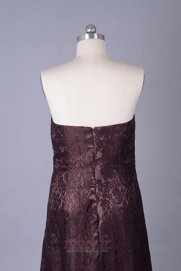 Robe mères Longueur de plancher Sans courroies Petites Tailles 5