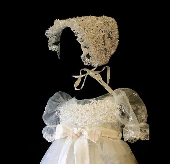 Robe de fille de fleur Princesse Cérémonie Petit collier circulaire 4