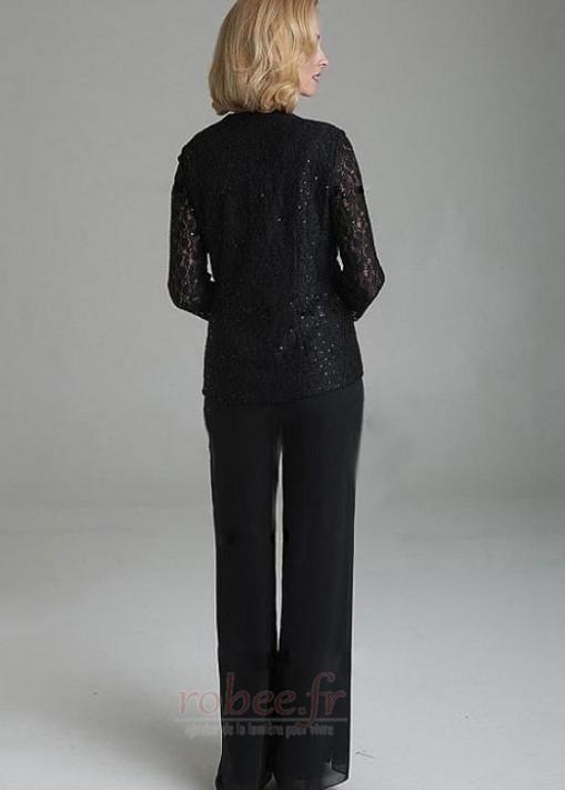 Robe mères Longueur Cheville Un Costume Luxueux Manche de T-shirt 2