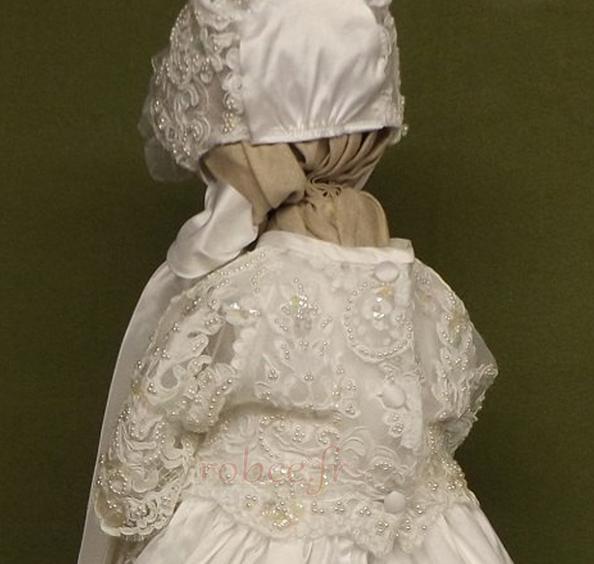 Robe de fille de fleur Cérémonie Manche Courte Automne Longue 2