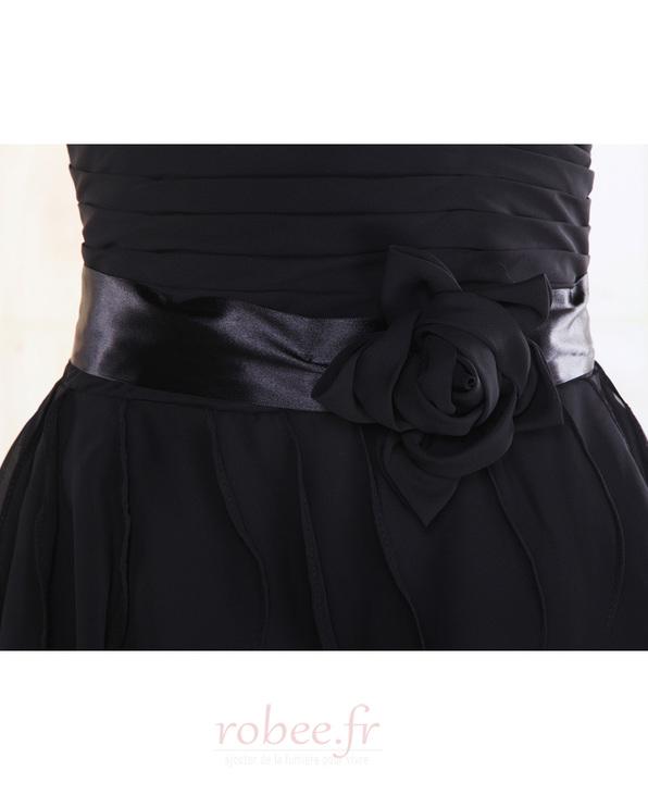 Robe de demoiselle d'honneur Fourreau plissé Taille chute Sablier 5