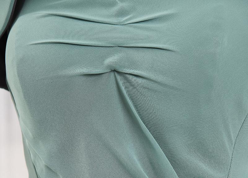 Robe mères Sirène Fourreau plissé élancé Festin Mousseline Ample & Ornée 6