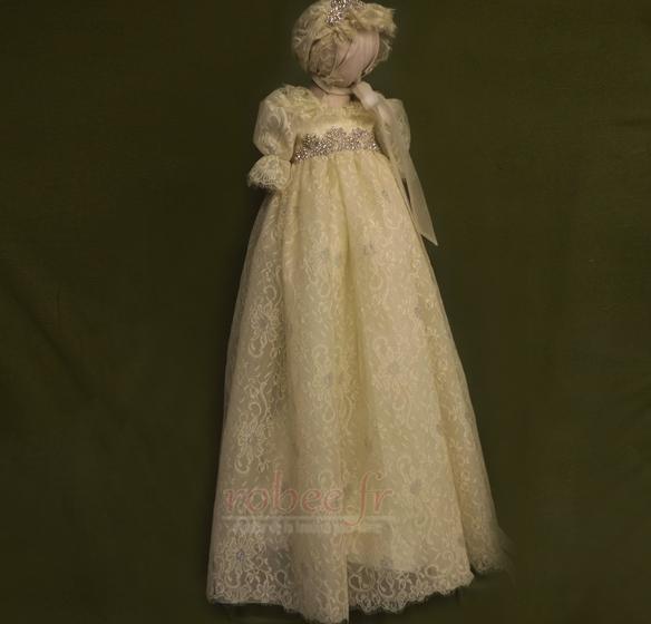 Robes de fille de fleur Bébé