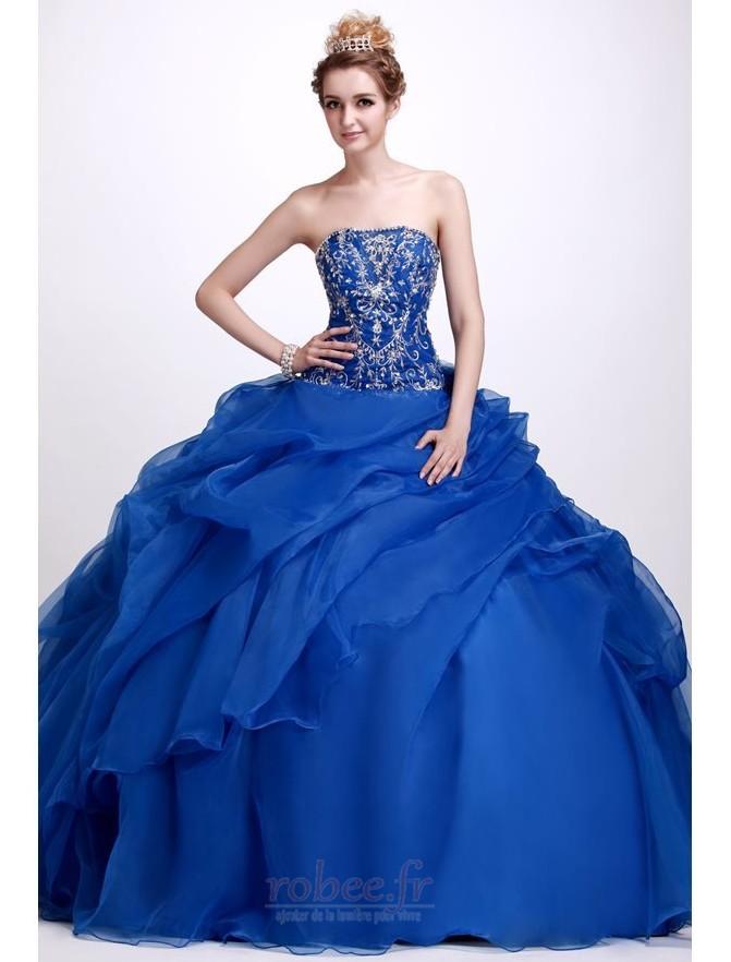 Robes de bal Bleu