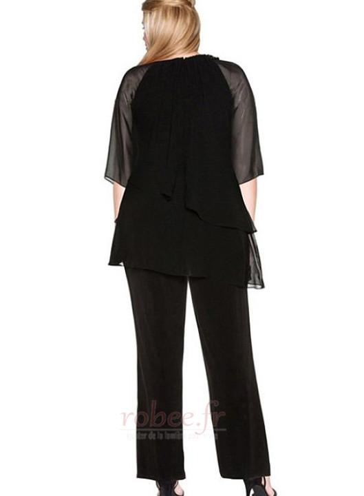 Robe mères Vintage Longueur Cheville Mousseline Haute Couvert 2