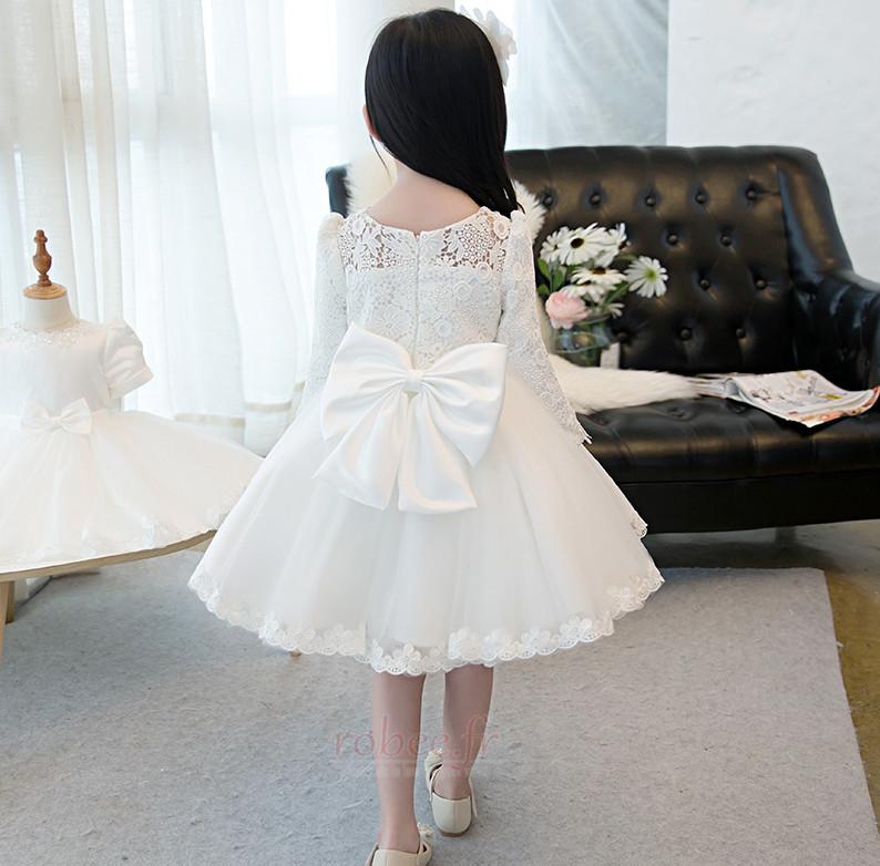 Robe de fille de fleur Manquant Été Dramatique Col de chemise t 2