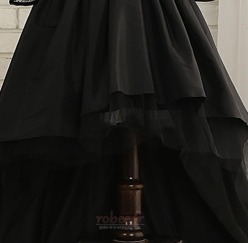 Robe de fille de fleur Elégant Manquant Satin Automne Col de chemise t 5