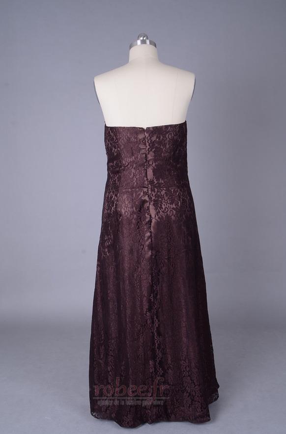Robe mères Longueur de plancher Sans courroies Petites Tailles 3