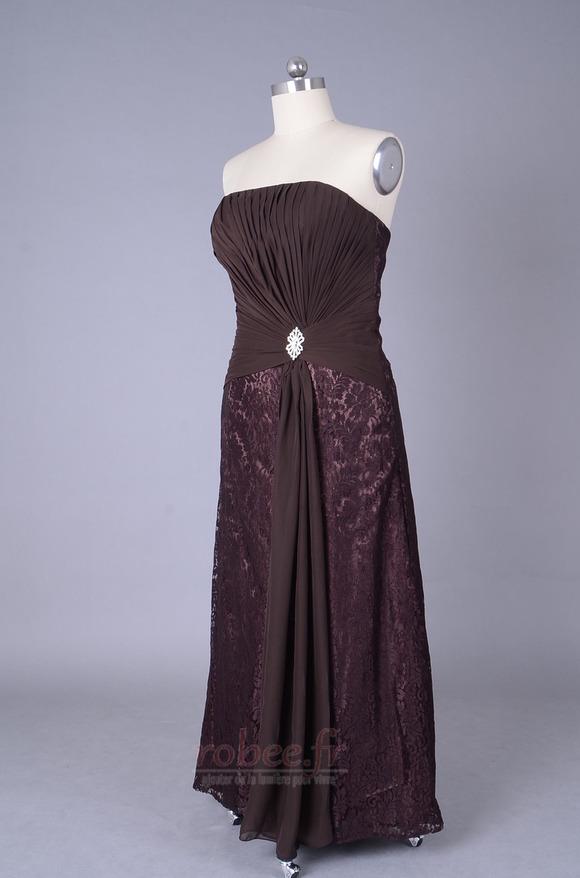 Robe mères Longueur de plancher Sans courroies Petites Tailles 2