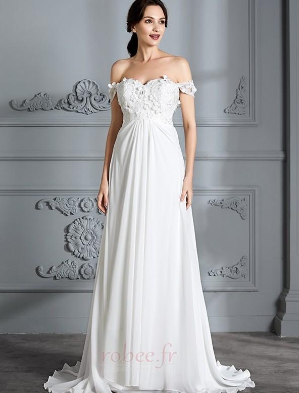 robe de mari e taille haute empire de plein air luxueux fourreau pli robee fr. Black Bedroom Furniture Sets. Home Design Ideas